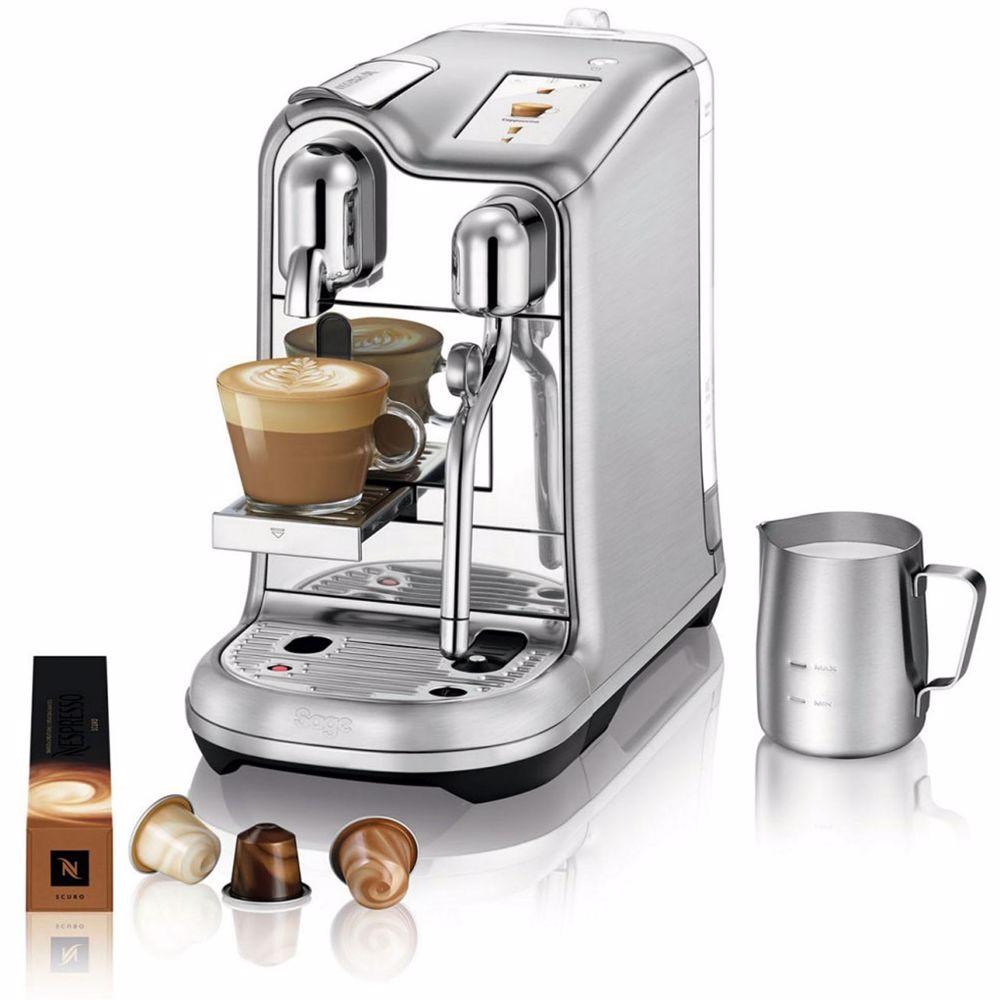 Nespresso Sage koffieapparaat Creatista Pro (RVS)