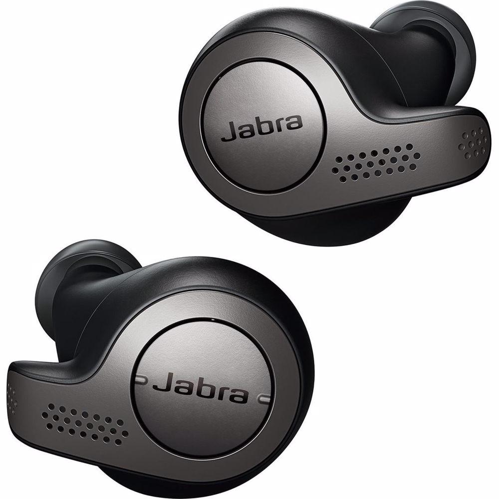 Jabra draadloze hoofdtelefoon Elite 65T (Titanium/Zwart)
