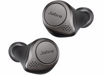 Jabra draadloze hoofdtelefoon Elite 75T WLC (Titanium/Zwart)