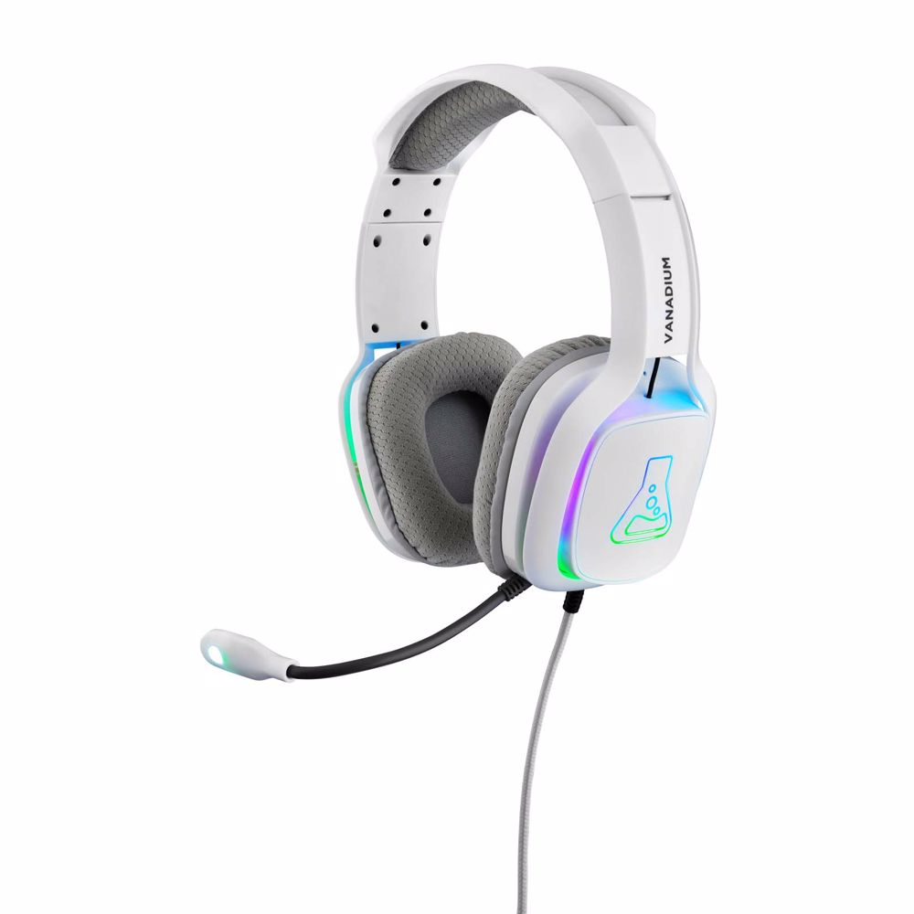 The G-Lab gaming headset Vanadium RGB (Wit) PC/PS4/Xbox One