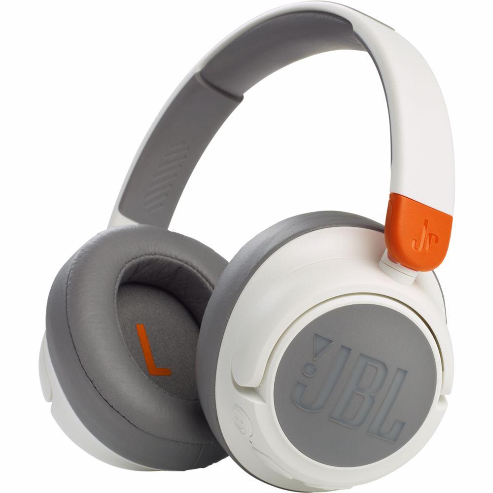 JBL draadloze kinderkoptelefoon JR460NCWHT (Wit)
