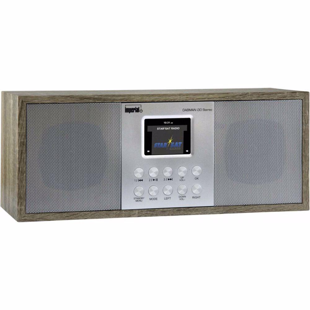 Imperial Dab/Dab+ radio Dabman i30 stereo (Lichtbruin)