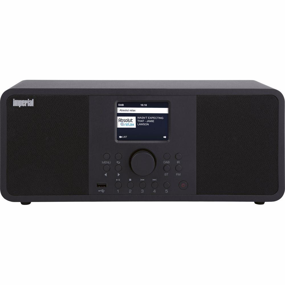 Imperial DAB radio DABMAN I205 (ZWART)