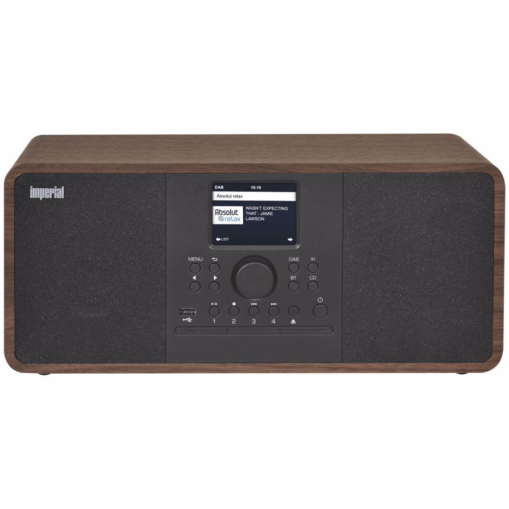 Imperial DAB radio DABMAN I205 CD (HOUT)
