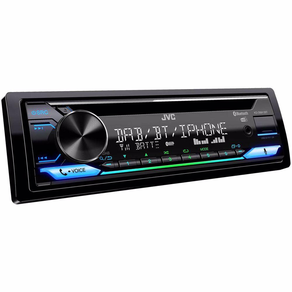 JVC DAB autoradio/CD speler KD-DB912BT