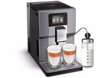 Krups espresso apparaat EA875E Intuition Preference + (Chrome)