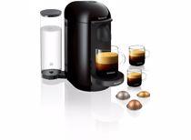 Nespresso Krups koffieapparaat VertuoPlus Rond (Zwart)