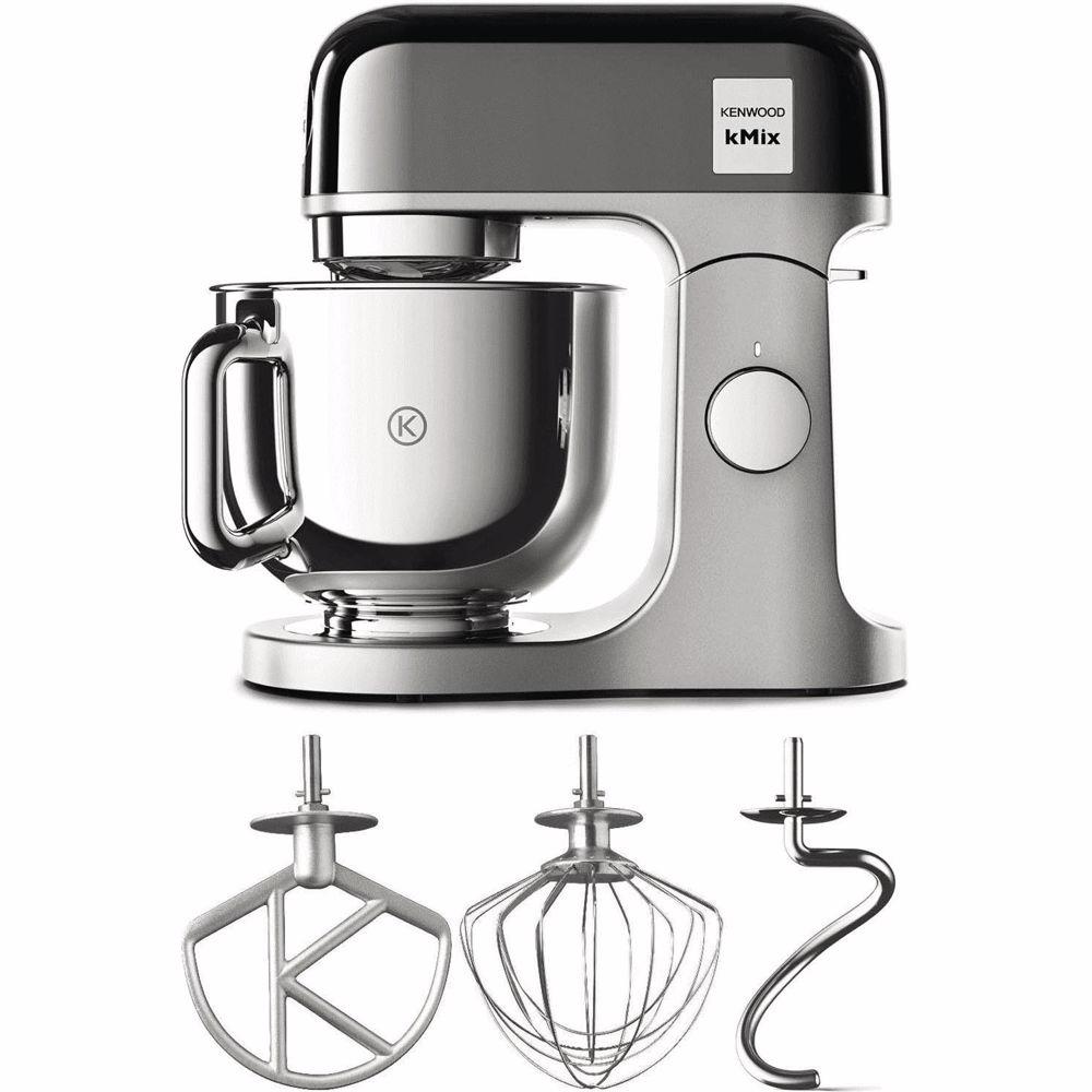 Kenwood keukenmachine kMix KMX760BC (Zwart/Zilver)