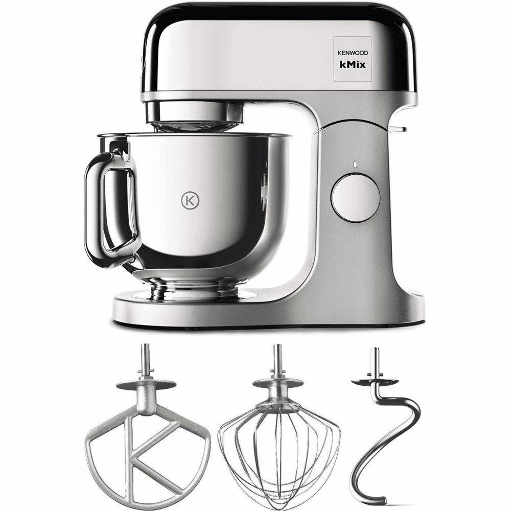 Kenwood keukenmachine kMix KMX760CH (Zilver)