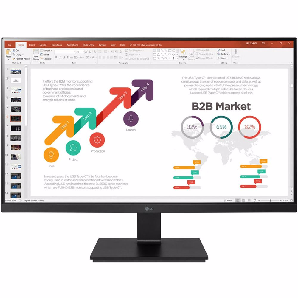 LG monitor 27BL650C-B