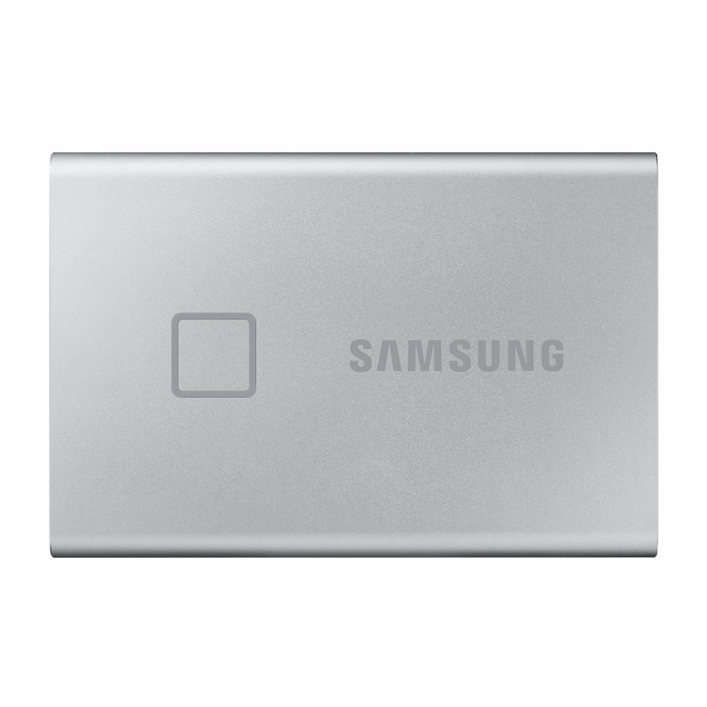 Samsung externe SSD T7 TOUCH 1T ZILVER