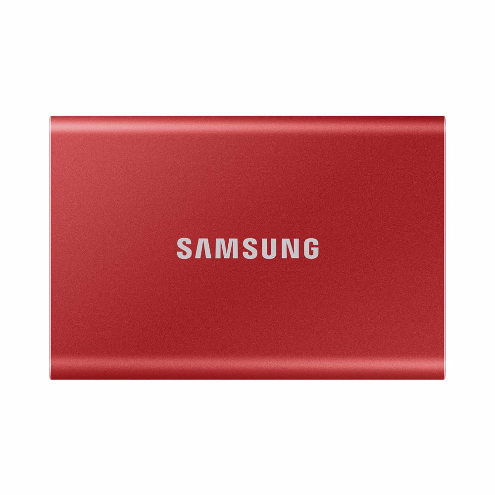 Samsung externe SSD T7 1T ROOD