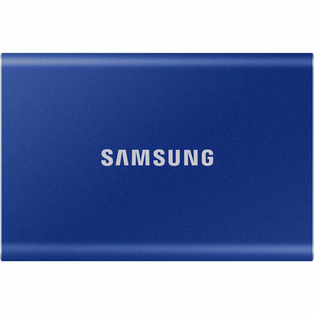 Samsung externe SSD T7 500GB (Blauw)