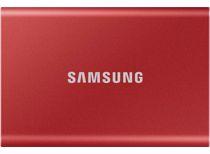 Samsung externe SSD T7 500GB (Rood)