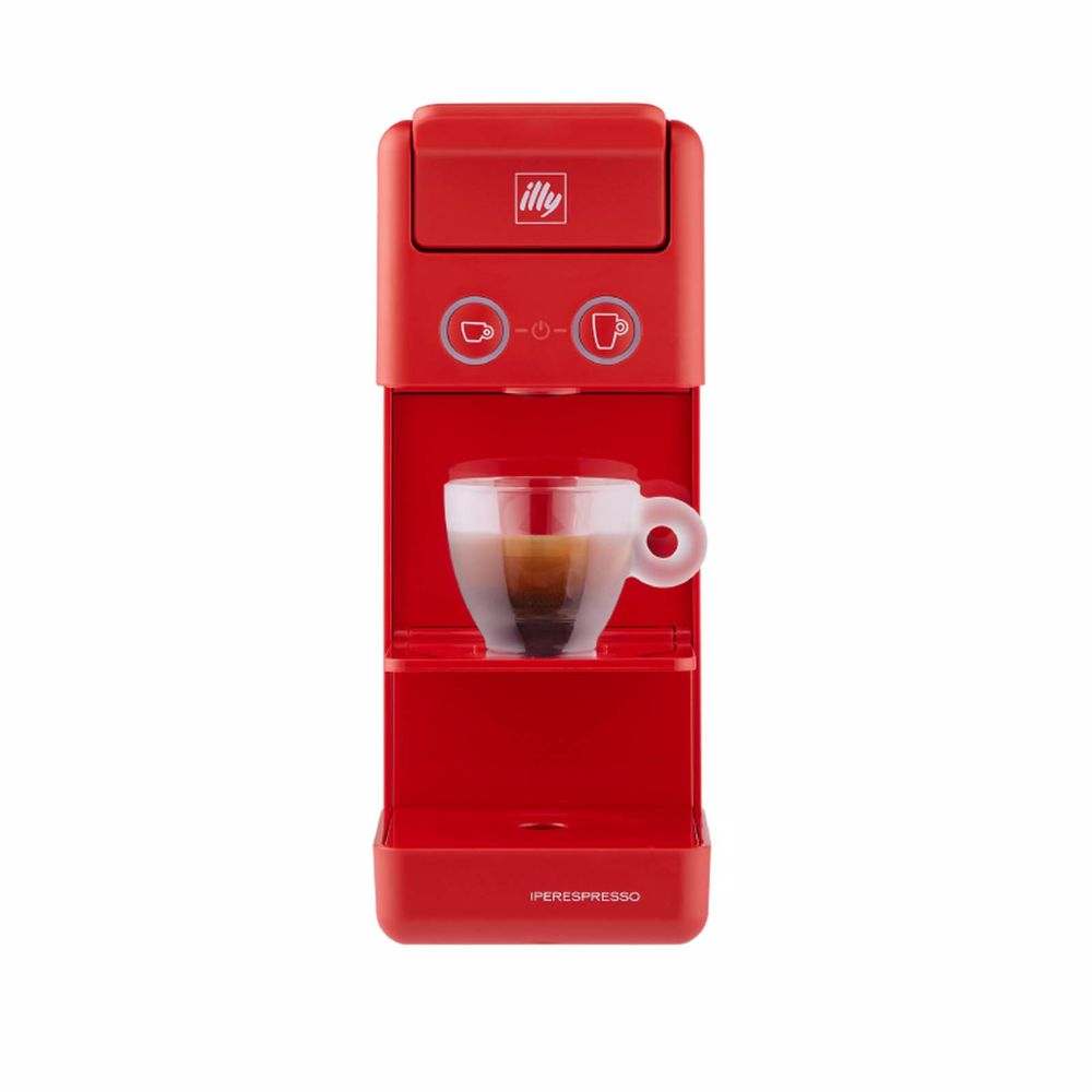 Illy espresso apparaat Y3.3 (Rood)