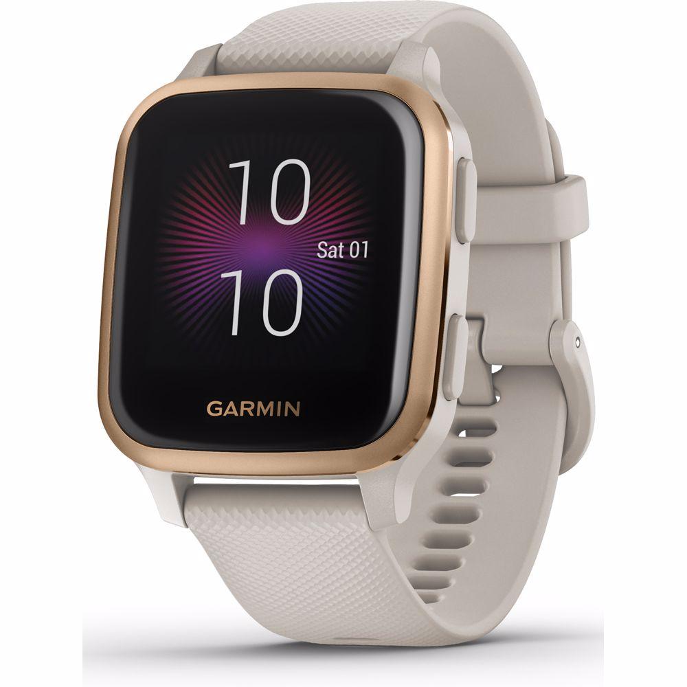 Garmin smartwatch Venu Sq – Music Edition (Licht Zand)