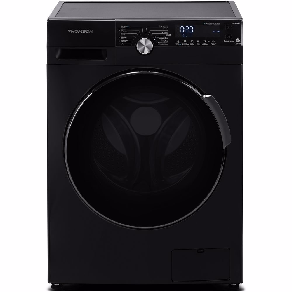 Thomson wasmachine TW1480EUBK (Zwart)