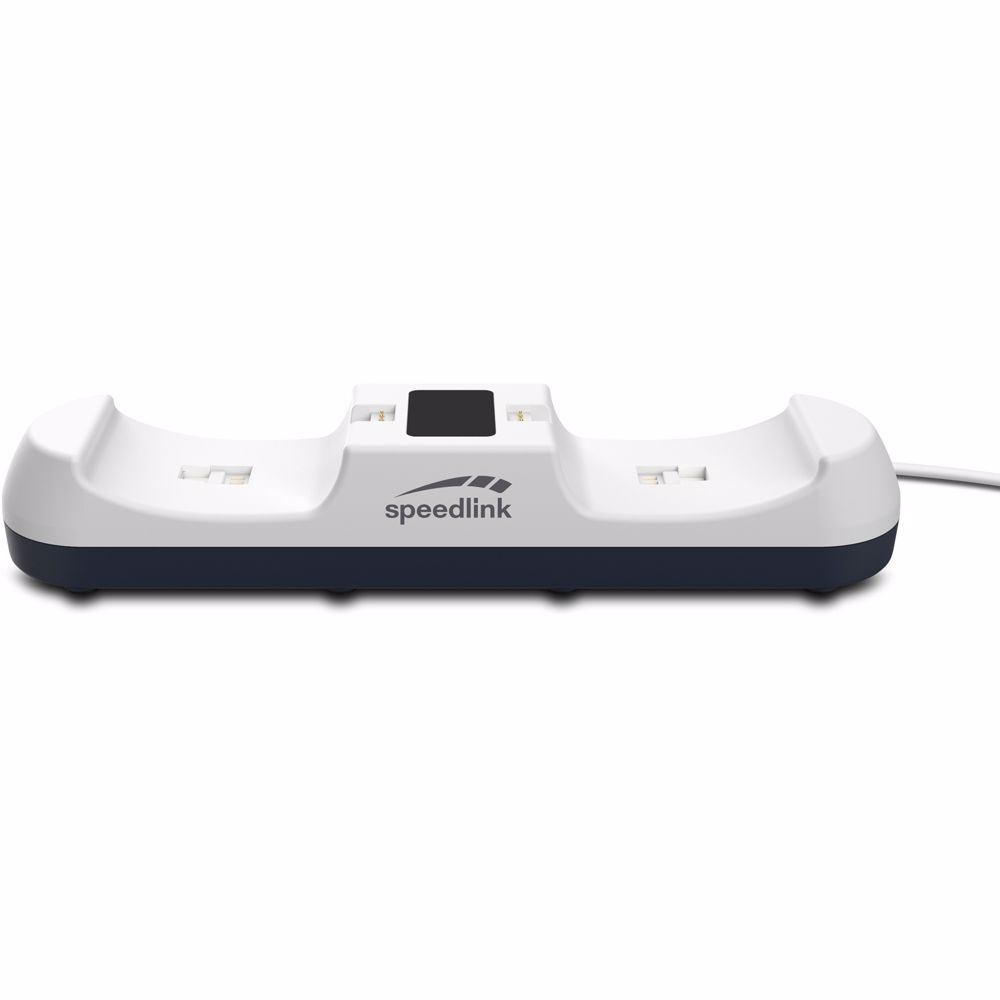 Spreedlink controller oplaadstation Jazz USB PS5 (Wit)