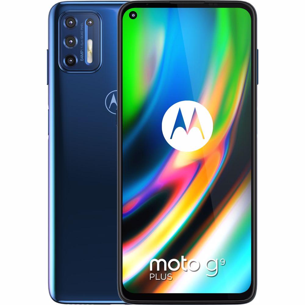 Motorola smartphone g9 Plus (Blauw)