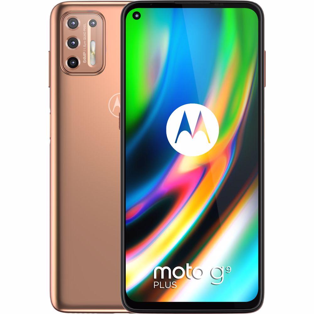 Motorola smartphone g9 Plus (Brons)