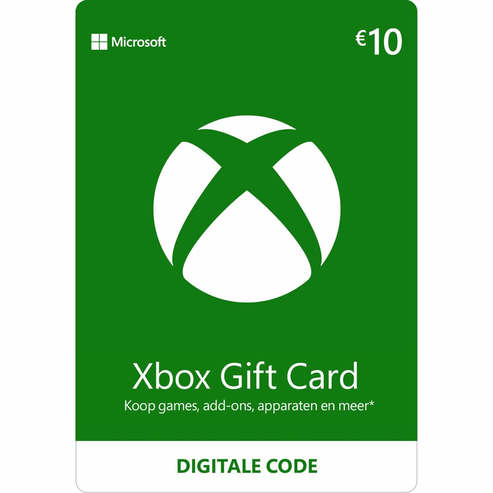 Xbox Gift Card 10 Euro – direct download