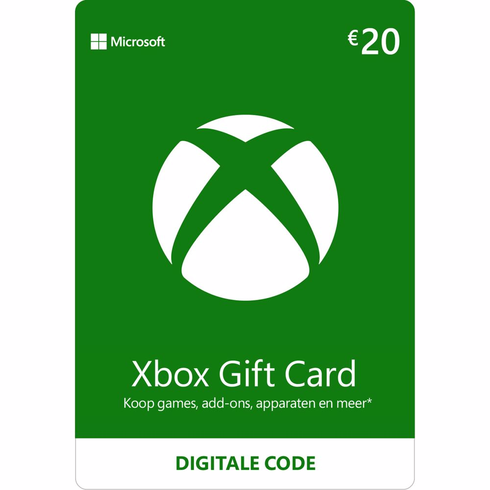 Xbox Gift Card 20 Euro – direct download