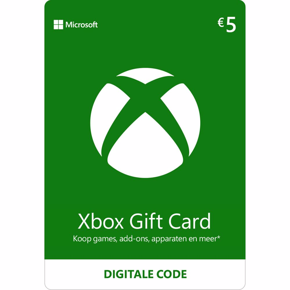 Xbox Gift Card 5 Euro – direct download