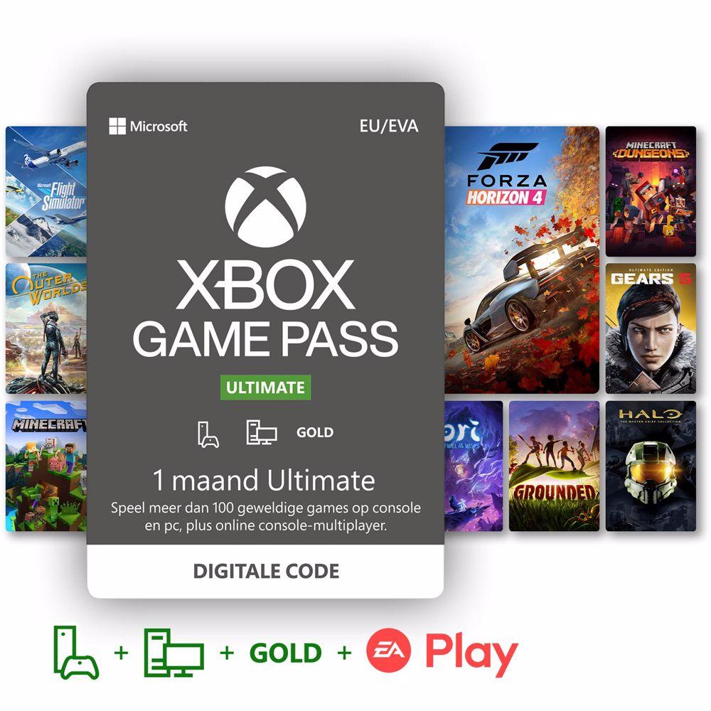 Xbox Game Pass Ultimate lidmaatschap 1 maand - direct download