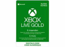 Xbox Live Gold 6 Maanden: 1 apparaat - direct download