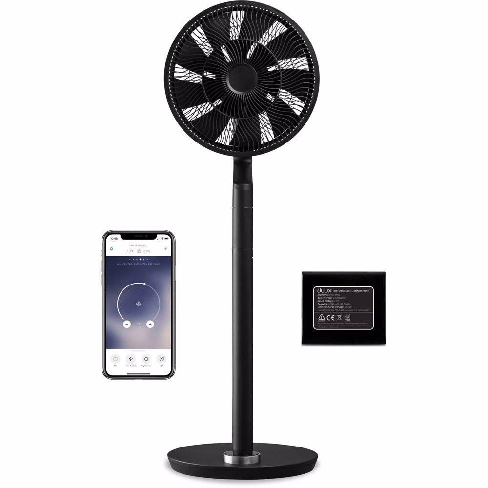 Duux ventilator Whisper Flex Ultimate (Zwart)