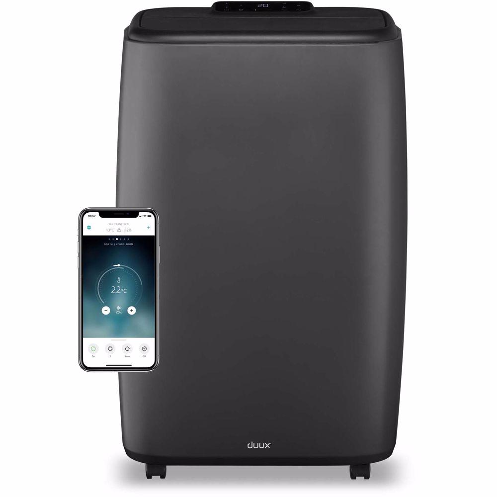 Duux mobiele airco North Smart 14.000 BTU (Grijs)