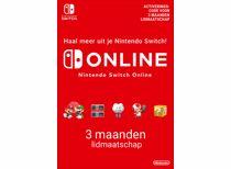 Nintendo Switch Online-lidmaatschap 3 maanden - direct download