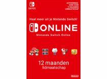 Nintendo Switch Online-lidmaatschap 12 maanden - direct download