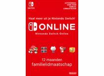 Nintendo Switch Online-Familielidmaatschap 12 maanden