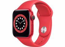 Apple Watch Series 6 GPS 40mm (Rood) Sportband