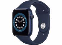 Apple Watch Series 6 GPS 44mm (Blauw) Sportband