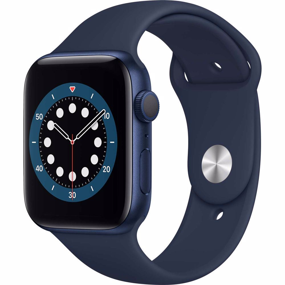 Apple Watch Series 6 GPS 44mm (Blauw) Sportband