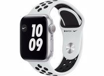 Apple Watch Nike Series 6 GPS 40mm (Zilver) Sportband (Wit)