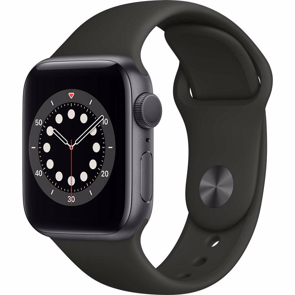 Apple Watch Series 6 GPS 40mm (Zwart) Sportband