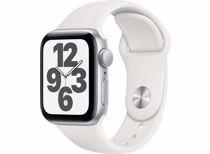 Apple Watch SE GPS 40mm (Zilver) Sportband (Wit)