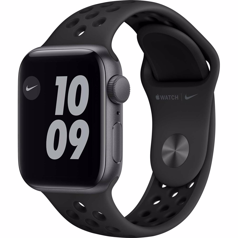 Apple Watch Nike SE GPS 40mm (Zwart) Sportband