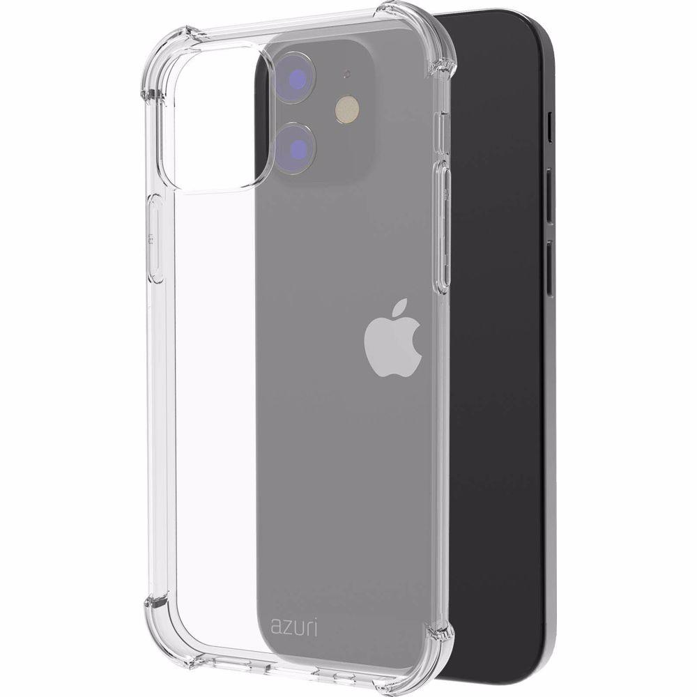 Azuri telefoonhoesje iPhone 12 Mini TPU (Transparant)