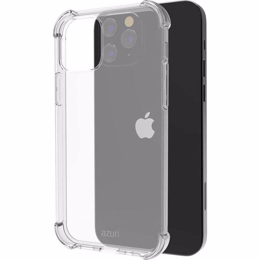 Azuri telefoonhoesje iPhone 12 / 12 PRO TPU (Transparant)