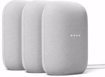 Google nest Audio (Licht Grijs) 2+1 gratis