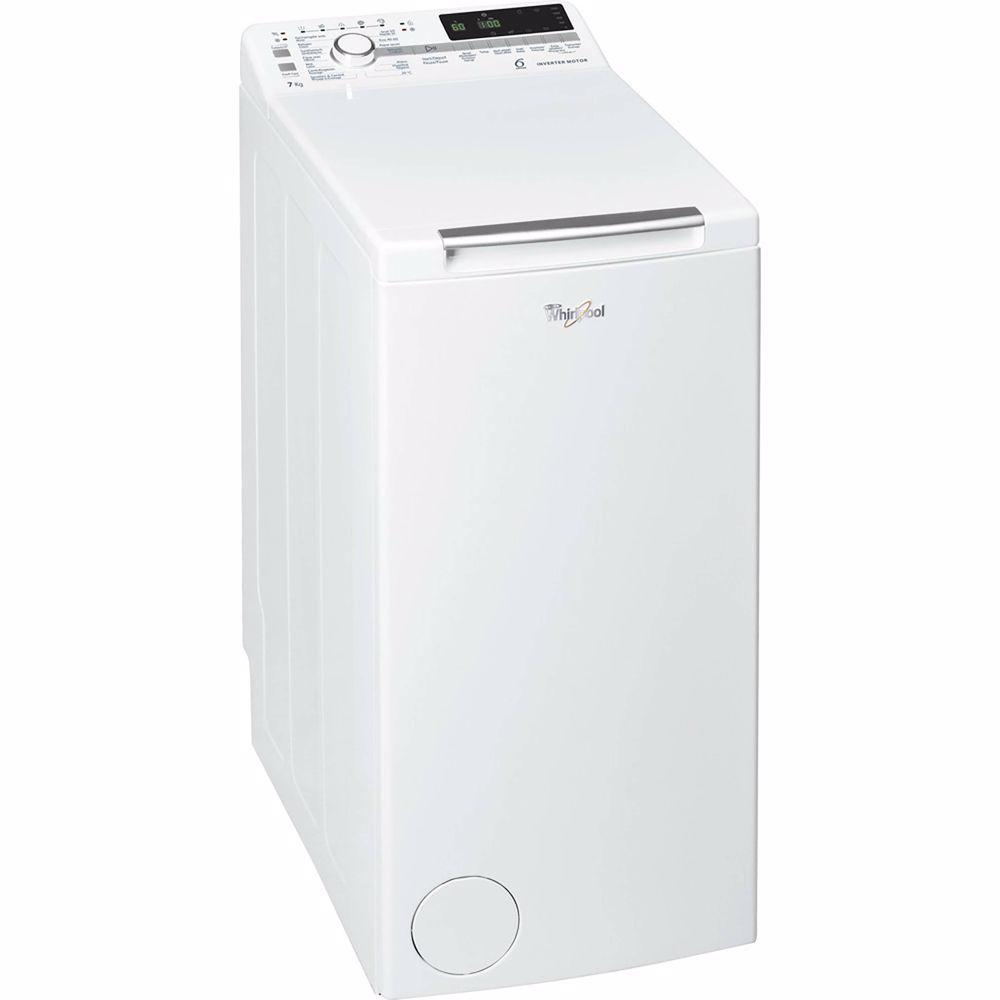 Whirlpool vrijstaande bovenlader wasmachine TDLR 7221BS - 7 kg