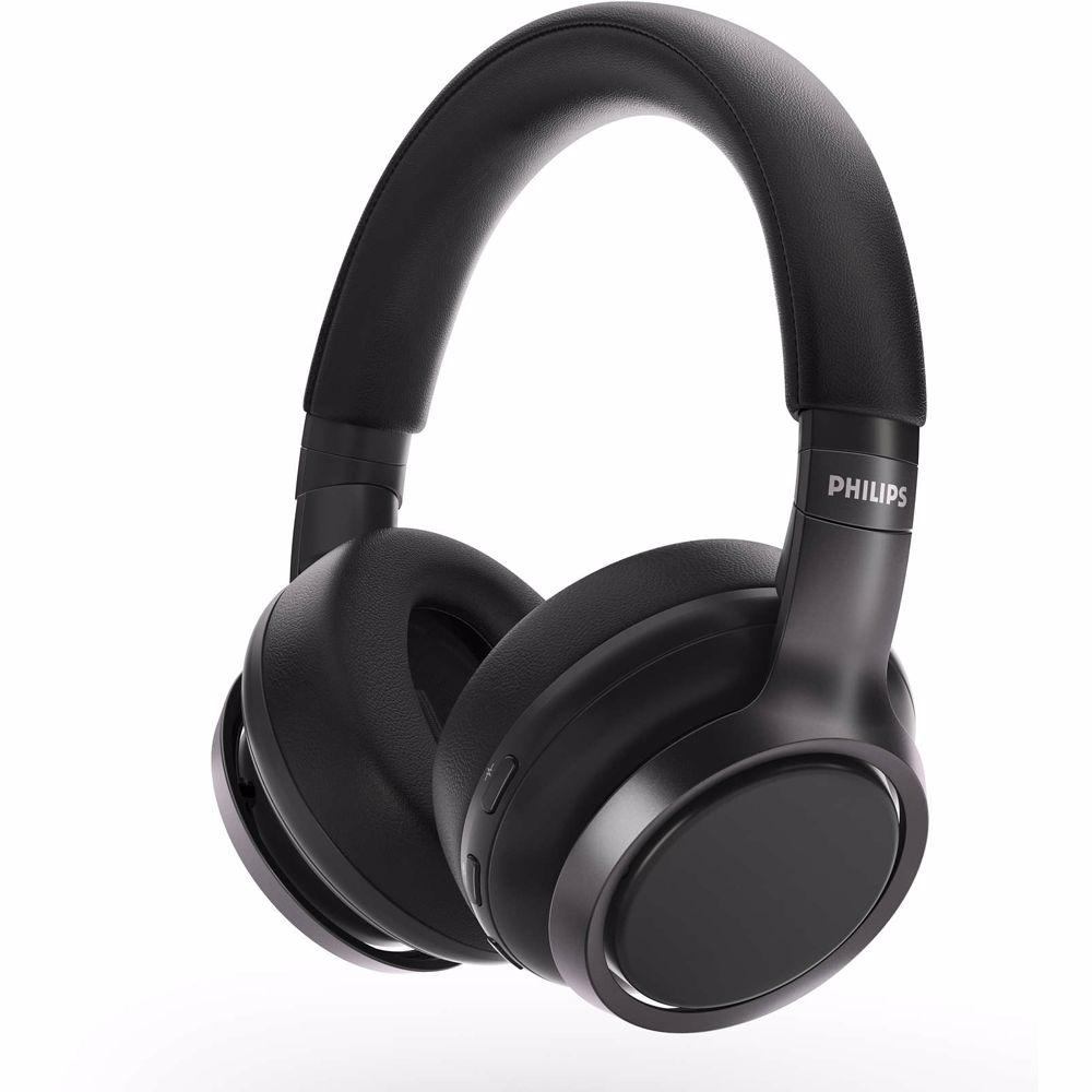 Philips draadloze hoofdtelefoon TAH9505 (Zwart)