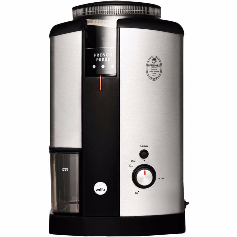 Wilfa koffiemolen WSCG-2 (Zilver)