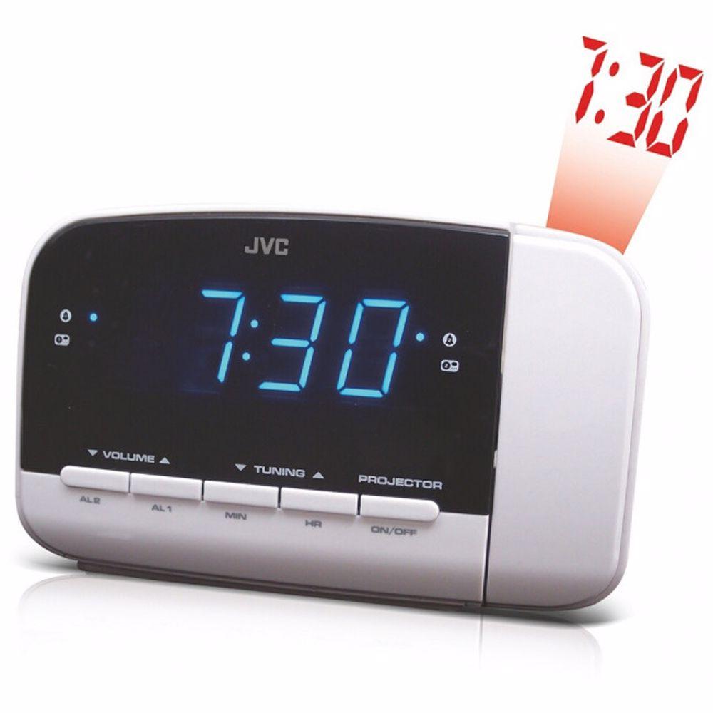 JVC wekkerradio RA-F230W