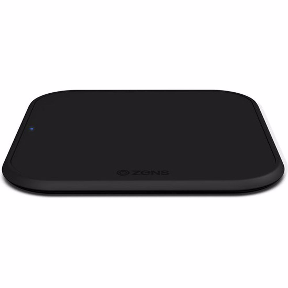ZENS Single Fast Wireless Charger draadloze snellader (Zwart)