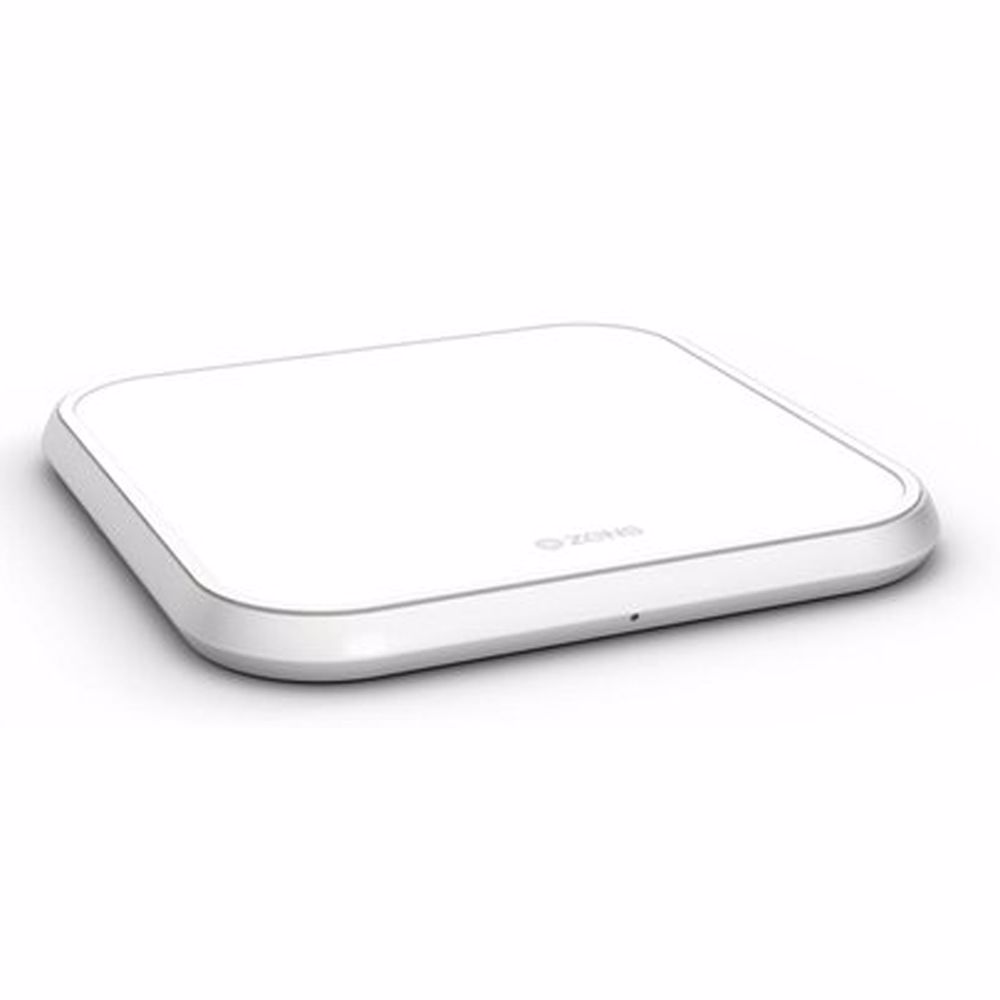 ZENS Single Fast Wireless Charger draadloze snellader (Wit)